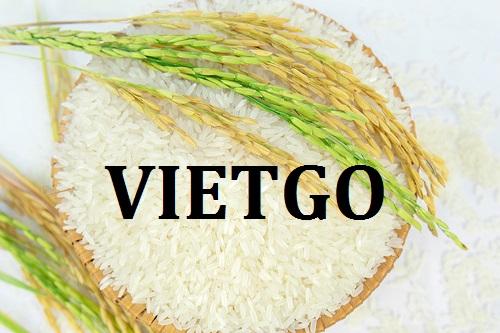 Cơ hội giao thương - Đơn Hàng Hàng Tháng -  Cơ hội xuất khẩu Gạo sang thị trường Brazil