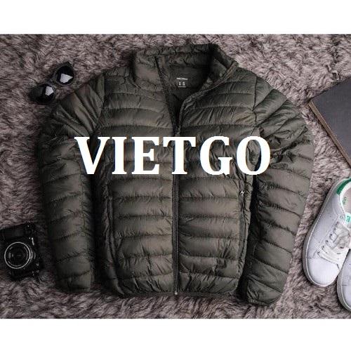 Cơ hội giao thương - Cơ hội cung cấp áo khoác cho một doanh nghiệp tại Mỹ