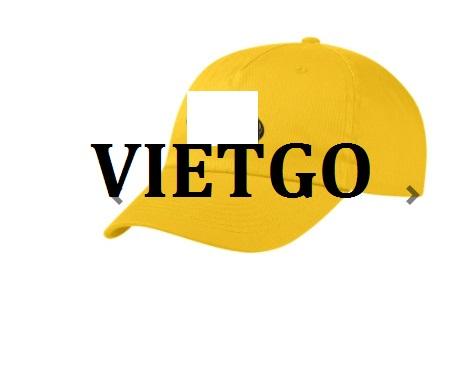 Cơ hội giao thương - Cơ hội xuất khẩu mũ thời trang số lượng lớn cho một doanh nghiệp quảng cáo nổi tiếng tại Mỹ