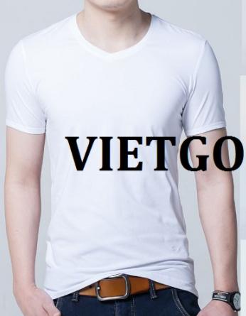 Cơ hội giao thương – Đơn hàng hàng tháng - Cơ hội cung cấp sản phẩm áo T – Shirt cho một doanh nghiệp tại Arab Saudi