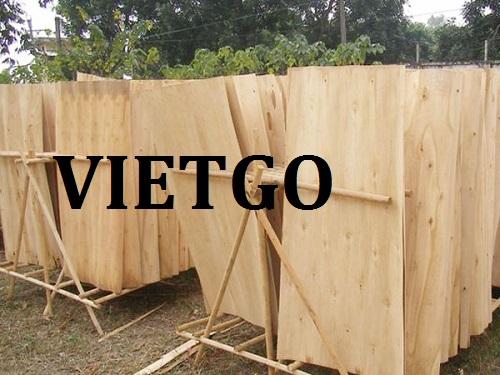 Cơ hội giao thương – Đơn hàng hàng tháng - Cơ hội xuất khẩu Ván bóc bạch đàn sang Campuchia