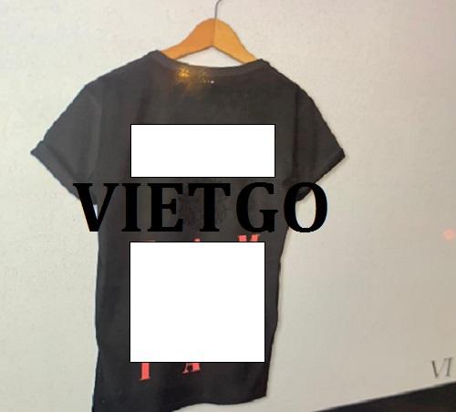 Cơ hội giao thương – Đơn hàng thường xuyên - Cơ hội xuất khẩu các sản phẩm T shirt thời trang đến thị trường Na Uy