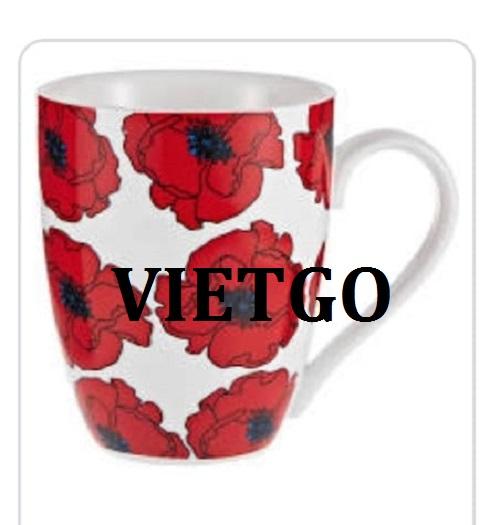 Cơ hội giao thương -  Cơ hội xuất khẩu Cốc sứ xương đến từ vị khách hàng VIP của VIETGO