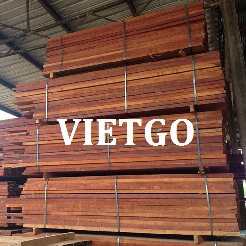 Cơ hội giao thương - Đơn hàng hàng tháng - Cơ hội xuất khẩu gỗ merbau xẻ sang thị trường Ấn Độ