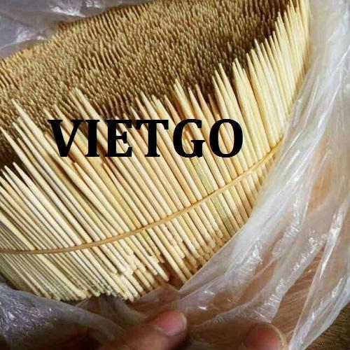 Cơ hội giao thương Đặc Biệt Thường Xuyên – Doanh nghiệp Nepal cần tìm nhà cung cấp tăm tre tại Việt Nam