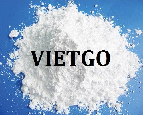 Cơ hội giao thương – Đơn hàng nhập khẩu hàng tháng – Doanh nghiệp Ấn Độ cần tìm nhà cung cấp bột đá vôi tại Việt Nam