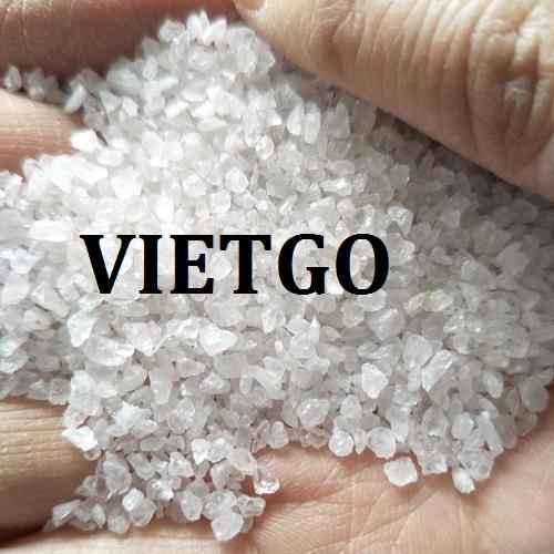 Cơ hội giao thương – Đơn hàng thường xuyên – Cơ hội xuất khẩu Cát silica sang thị trường Trung Quốc