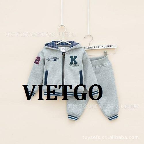 Cơ hội giao thương - Cơ hội cung cấp mặt hàng quần áo trẻ em tới thị trường Isarel