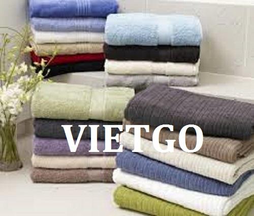 Cơ hội giao thương - Cơ hội cung cấp mặt hàng khăn bông cho doanh nhân người Ấn Độ