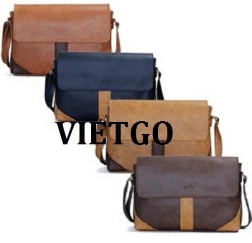 Cơ hội giao thương -  Đơn hàng thường xuyên - Cơ hội xuất khẩu sản phẩm túi xách thời trang đến thị trường Ấn Độ