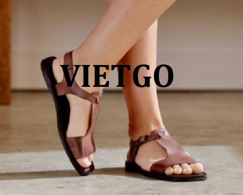 Cơ hội giao thương -  Đơn hàng thường xuyên - Cơ hội xuất khẩu sản phẩm sandal nữ thời trang đến thị trường Ấn Độ