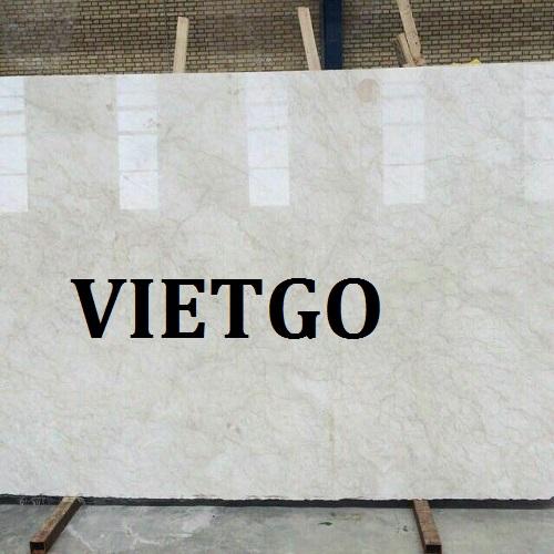Cơ hội giao thương – Đơn hàng thường xuyên – Cơ hội xuất khẩu đá marble cho thương nhân người Ấn Độ