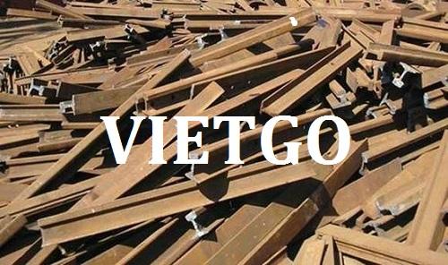 Cơ hội giao thương – Đơn hàng thường xuyên – Vị khách hàng đến từ Nhật Bản cần nhập khẩu thép phế liệu tại Việt Nam