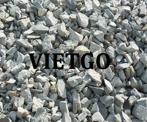Cơ hội giao thương Đặc Biệt Thường Xuyên – Cơ hội xuất khẩu đá xây dựng cho vị khách hàng người Hoa Kỳ
