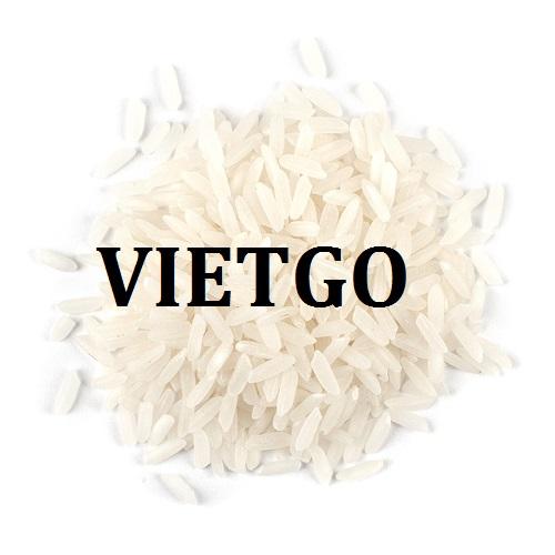 Cơ hội giao thương  - Đơn Hàng Hàng Tháng -  Cơ hội xuất khẩu Gạo Trắng sang thị trường Singapore