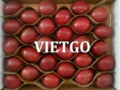 Cơ hội giao thương – Đơn hàng Thường Xuyên - Cơ hội xuất khẩu Chanh leo sang thị trường Nga.