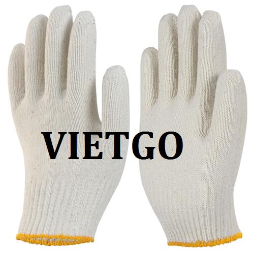 Cơ hội giao thương – Đơn hàng thường xuyên – Cơ hội cung cấp mặt hàng găng tay lao động cho doanh nghiệp tại Hàn Quốc