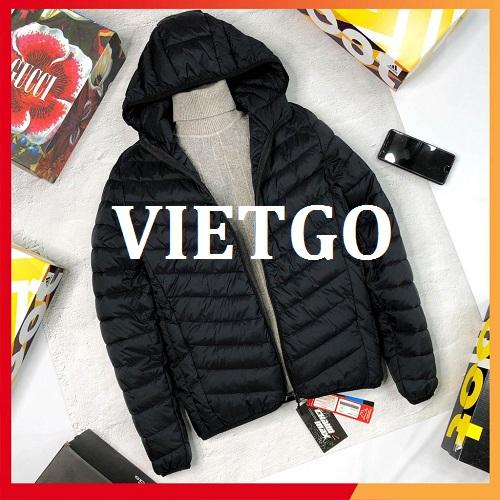 (Cập nhật số điện thoại vị khách hàng) Cơ hội giao thương – Cơ hội xuất khẩu áo khoác giữ nhiệt tới thị trường Pakistan