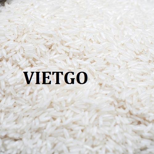 Cơ hội giao thương – Đơn hàng hàng tháng - Cơ hội xuất khẩu Gạo trắng sang thị trường Togo.