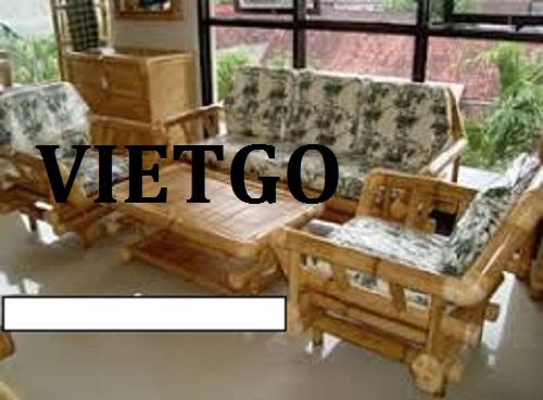 Cơ hội giao thương - Cơ hội xuất khẩu Bàn ghế bằng tre sang thị trường Ấn Độ