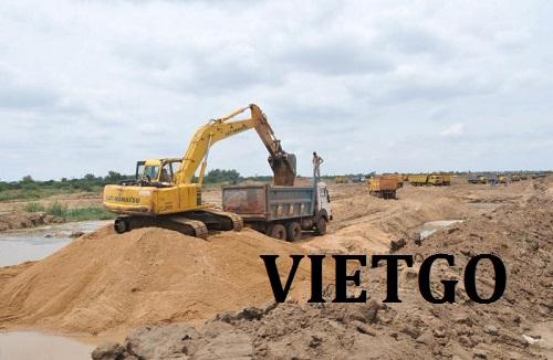 Cơ hội giao thương – Cơ hội trở thành nhà cung cấp Cát sông cho một công trình xây dựng tại Nga