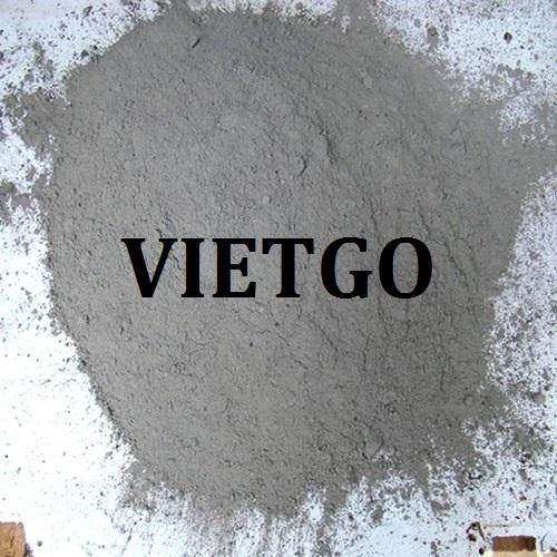 Cơ hội giao thương – Đơn hàng thường xuyên – Doanh nghiệp Ấn Độ đang cần tìm nhà cung cấp xi măng tại Việt Nam