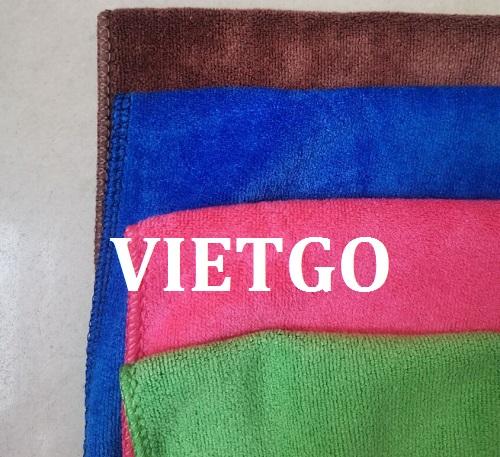 Cơ hội giao thương – Đơn hàng hàng năm - Cơ hội cung cấp sản phẩm khăn bông sang thị trường Mỹ