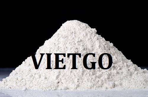 Cơ hội giao thương – Đơn hàng thường xuyên – Thương nhân người Bangladesh cần nhập khẩu bột đá vôi từ Việt Nam