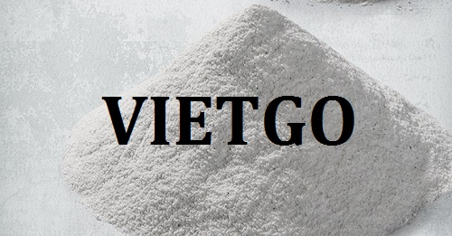 Cơ hội giao thương – Đơn hàng thường xuyên – Cơ hội xuất khẩu Bột đá vôi sang thị trường Ấn Độ