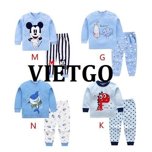 Cơ hội giao thương - Cơ hội cung cấp mặt hàng quần áo trẻ em tới thị trường Dubai