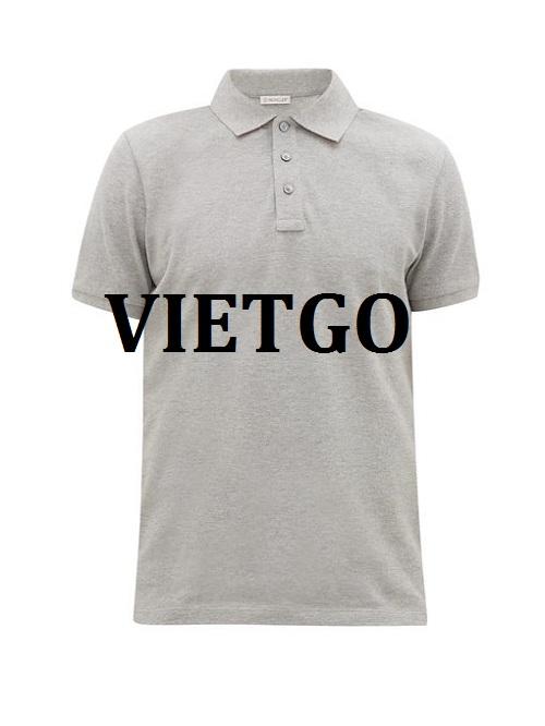 Cơ hội giao thương –Đơn hàng thường xuyên - Cơ hội cung cấp mặt hàng áo Polo Shirt cho một doanh nghiệp tại Anguilla