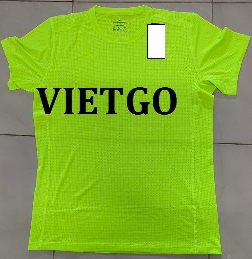 Cơ hội giao thương – Cơ hội xuất khẩu mặt hàng áo T-shirt thể thao và vải may mặc tới thị trường Hoa Kỳ