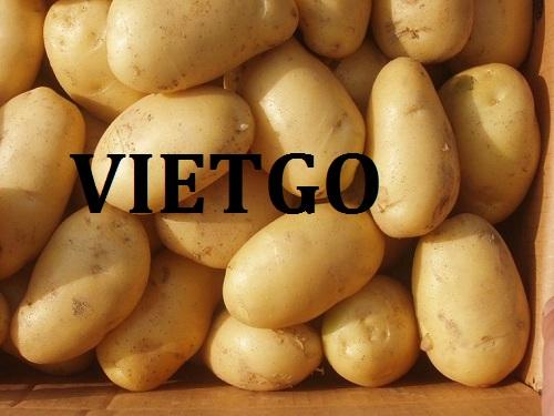 Cơ hội giao thương – Đơn hàng Đặc biệt hàng tuần - Cơ hội xuất khẩu khoai tây sang thị trường Ấn Độ.