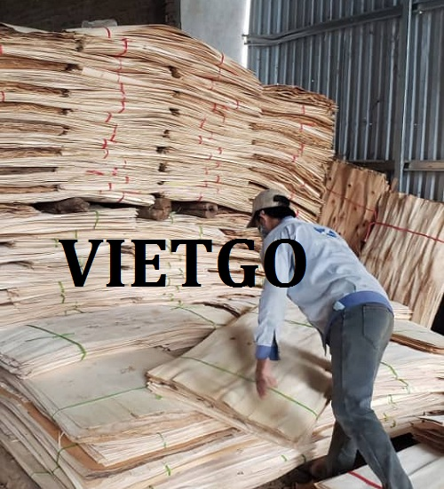 Cơ hội giao thương Đặc biệt – Đơn hàng thường xuyên - Cơ hội xuất khẩu 50 – 70 container Ván bóc sang thị trường Trung Quốc.