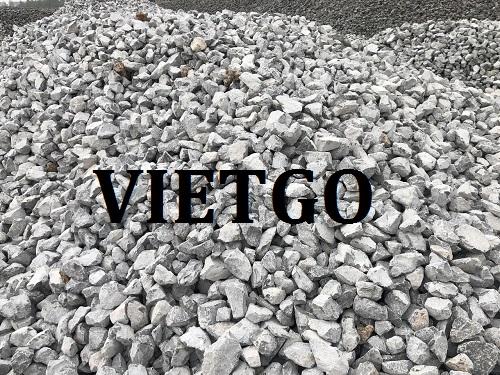 Cơ hội giao thương – Đơn hàng xuất khẩu 40.000 tấn đá Xây dựng sang thị trường Bangladesh