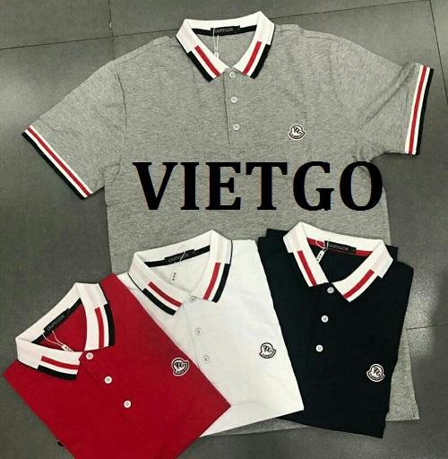 (Cập nhật email) Cơ hội giao thương - Cơ hội cung cấp mặt hàng áo Polo sang thị trường Philippines