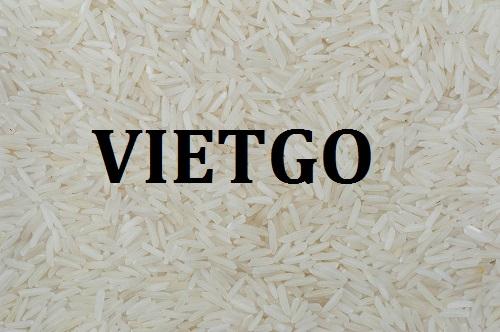 Cơ hội giao thương  - Đơn Hàng Hàng Tháng -  Cơ hội xuất khẩu Gạo sang thị trường Trung Quốc