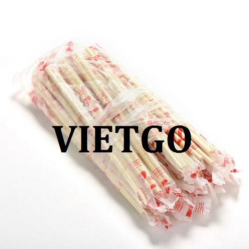 Cơ hội giao thương – Đơn hàng thường xuyên – Vị khách hàng người Malaysia đang cần tìm nhà cung cấp Đũa tre của Việt Nam