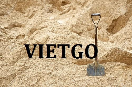 Cơ hội giao thương – Đơn hàng Cả Năm – Doanh nghiệp Trung Quốc cần nhập khẩu 1 triệu tấn cát từ Việt Nam