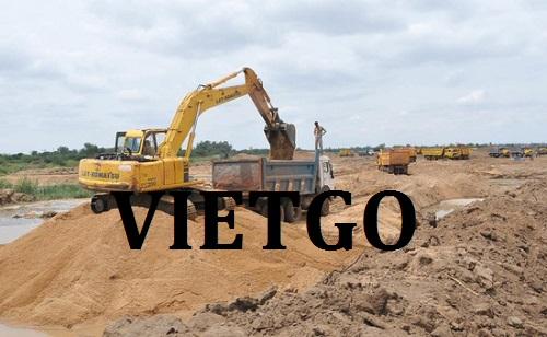 Cơ hội giao thương – Đơn hàng thường xuyên – Cơ hội xuất khẩu cát sông sang thị trường Trung Quốc