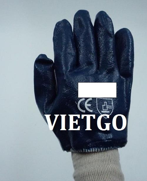 Cơ hội giao thương – Đơn hàng hàng tháng - Cơ hội cung cấp các sản phẩm găng tay cho một doanh nghiệp tại Ấn Độ