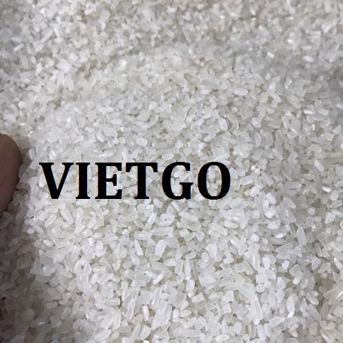 Đơn Hàng Cả Năm -  Cơ hội xuất khẩu 50.000 tấn Gạo Tấm sang thị trường Trung Quốc