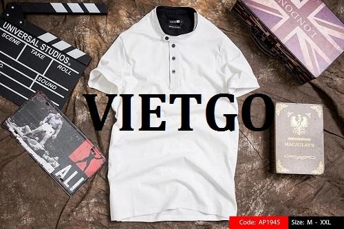Đơn hàng Đặc biệt thường xuyên - Cơ hội xuất khẩu áo Polo và T-shirt thời trang nam nữ cho doanh nhân người Ấn Độ