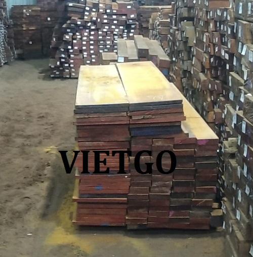 Cơ hội xuất khẩu 3 – 5 container gỗ teak xẻ hàng tháng cho một doanh nghiệp tại Ấn Độ.