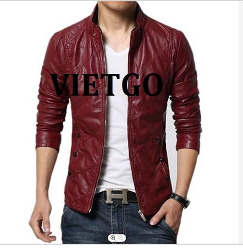 Cơ hội xuất khẩu sản phẩm Jacket nam cho vị thương nhân đến từ Peru