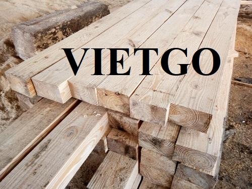 Cơ hội xuất khẩu mỗi tháng 25 container 40ft gỗ thông làm pallet sang Sri Lanka.