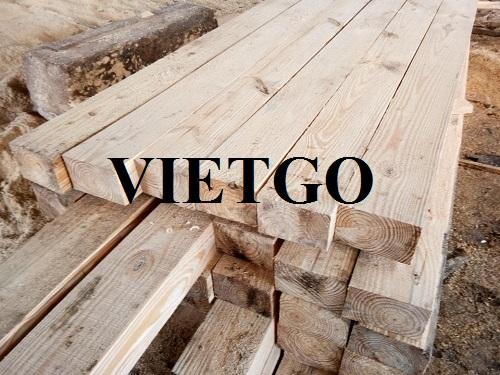 (Gấp) Cơ hội xuất khẩu gỗ thông sang thị trường Ấn Độ.