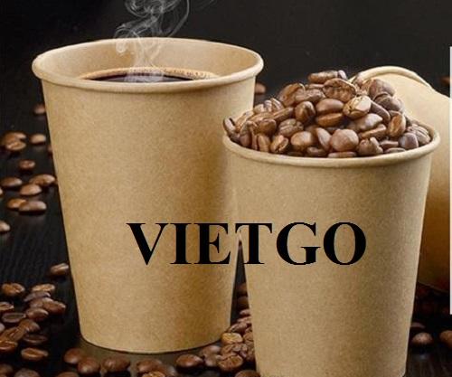 Cơ hội xuất khẩu 20 container 40ft cốc giấy sang thị trường Ý.