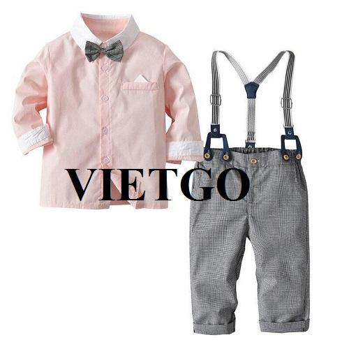 Cơ hội xuất khẩu quần áo trẻ em đến thị trường Ấn Độ