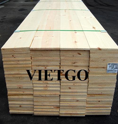 Cơ hội xuất khẩu gỗ thông xẻ sang Cộng hòa Gambia.